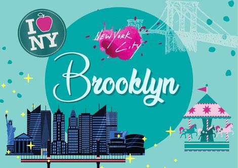 → zum ausführlichen Artikel BROOKLYN: Brooklyn Bridge, DUMBO, Manhattan Bridge