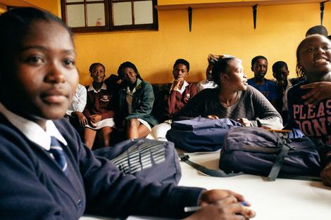 """Das Projekt """"Vulamasango"""" gibt den Kindern eine Zukunft."""