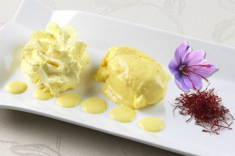 saffon-ice-cream-Loire-Valley-specialty-local-food-gastronomy