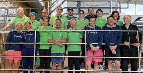 Mastersschwimmer sind in Fürth sehr erfolgreich