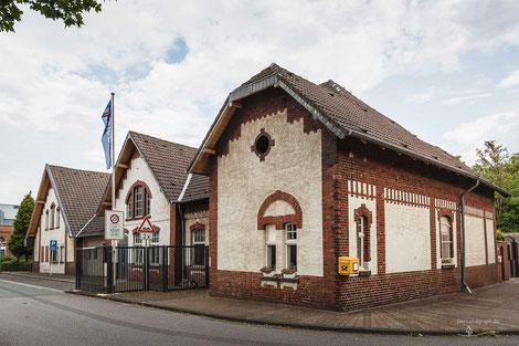 Bergwerk Zeche Rheinbaben, Bottrop, Ruhrgebiet, Altes Torhaus, Industriekultur, Industrie, Zechen, Bergbau, Steinkohle