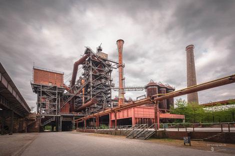 Landschaftspark Duisburg-Nord, Ruhrgebiet, Deutschland, Industriekultur, Industrie, Industrieanlagen, Hüttenwerk, Kokerei, Ruhrgebiet, Ruhrpott, Revier