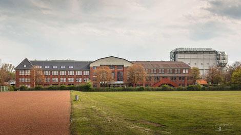 Kauen- und Verwaltungsgebäude der Zeche Maximilian in Hamm, Ruhrgebiet, Deutschland, Industriekultur, Industrie, Zechen, Bergbau, Steinkohle