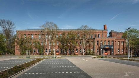 Kaue der Zeche Werne in Bergkamen, Ruhrgebiet, Deutschland, Industriekultur, Industrie, Zechen, Bergbau, Steinkohle