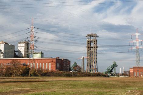 Zeche Walsum, Schacht 1, Duisburg, Ruhrgebiet, Deutschland, Industriekultur, Industrie, Zechen, Bergbau, Steinkohle