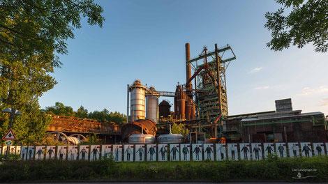 Eisenhütte Henrichshütte in Hattingen, Deutschland, Industriekultur, Industrie, Industrieanlagen, Hüttenwerk, Kokerei, Ruhrgebiet, Ruhrpott, Revier
