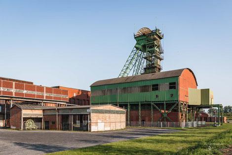 Zeche Westfalen in Ahlen, Industriekultur, Industrie, Zechen, Bergbau, Steinkohle