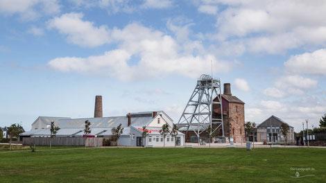 South Crofty Mine, Heartlands, Pool, Cornwall, England, Industriekultur, Industrie, Zechen, Bergbau, Zinn