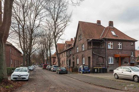 Arbeitersiedlung Wehofen, Duisburg, Ruhrgebiet, Deutschland, Industriekultur, Industrie, Arbeitersiedlungen, Zechensiedlungen, Arbeiterkolonien