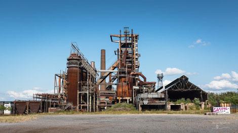 Hochofenwerk Industrieanlage Phoenix-West, Dortmund-Hörde, Deutschland, Industriekultur, Industrie, Industrieanlagen, Hüttenwerk, Kokerei, Ruhrgebiet, Ruhrpott, Revier