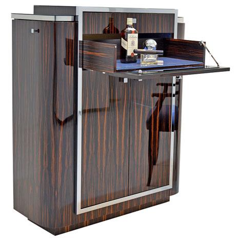 Art Deco Bar, Art Deco coctail cabinet. Artdeco München