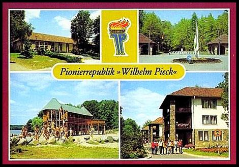 Postkaart  Verlag Bild und Heimat, Reichenbach Vogtländ     Werbelinsee Schorfheide 1. collectie auteur.