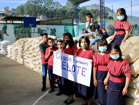 EDELAC Elote Guatemala Nothilfe Corona Covid19 Sars-Cov-19