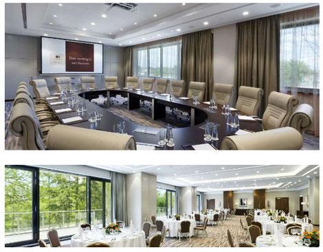 Bilder Doble Tree Hilton Hotel, Warschau. Hier werden wir die 3 Tage verbringen