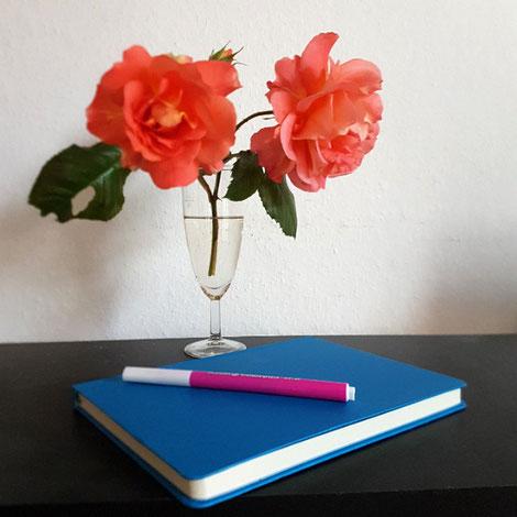Dankbarkeits-Tagebuch, fotografiert von Eva Wlodrak