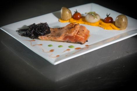 Recette de poisson saumon restaurant presqu'ile de Guérande
