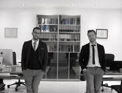 Avv. Leandro Savoca e Avv. Alessandro Piccolo presso il proprio Studio Legale a Caneva.