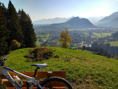 Mountainbiken in Pfronten
