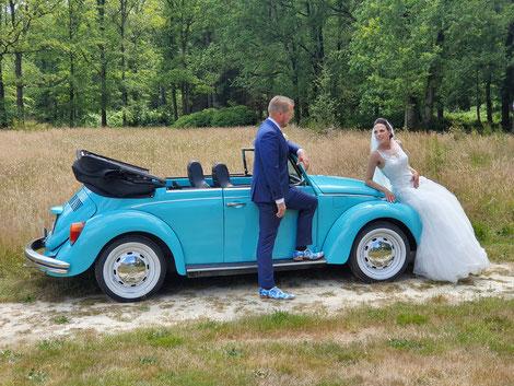 VW Kever Cabriolet hueren