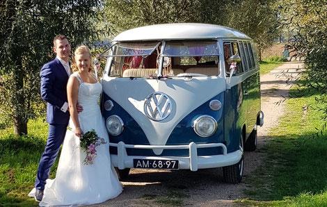 Trouwen Volkswagen busje