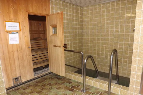 Sauna, Tauchbecken