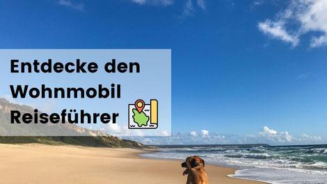 Camping mit Hund, Frankreich, Wohnmobil Reiseführer, reisen mit hund im wohnmobil