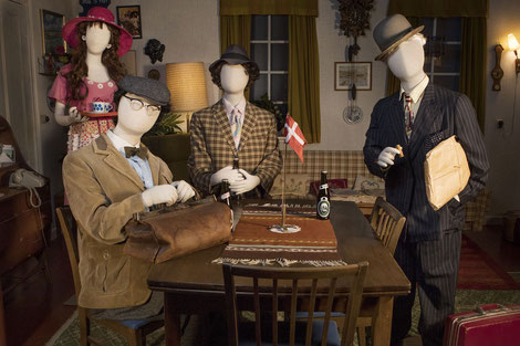 Die Olsenbande –Ausstellung von Nordisk Film. Foto: PR/Nordisk Film
