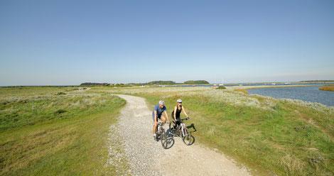 Unterwegs aus dem neuen Ostseeradweg in Dänemark. Foto: PR/VisitDenmark