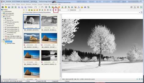 Screenshot, FastStone Image Viewer, Bildmarkierungen, selektive Anzeige, Dr. Ralph Oehlmann, Oehlmann-Photography