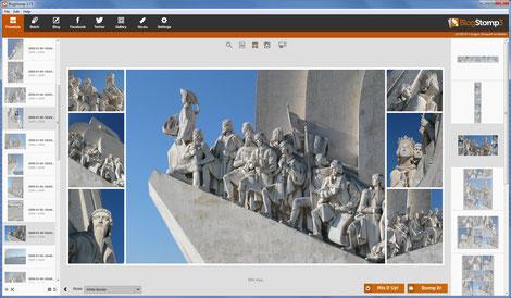 Mischen der Bilder, BlogStomp, Dr. Ralph Oehlmann, Oehlmann-Photography