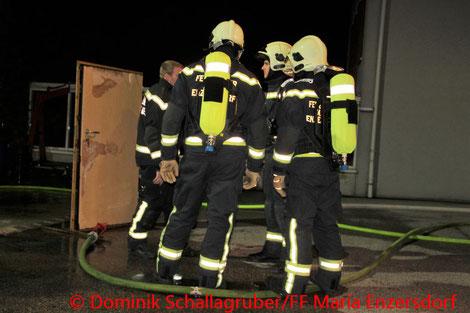 © Dominik Schallagruber/Freiwillige Feuerwehr Maria Enzersdorf