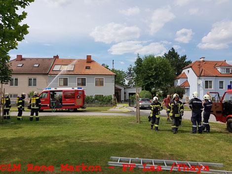 © LM Rene Markon/Freiwillige Feuerwehr Laa/Thaya