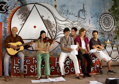 Buddhas Open Heart im Beatles Ashram; Foto: (c) Ingrid Meier / BOH