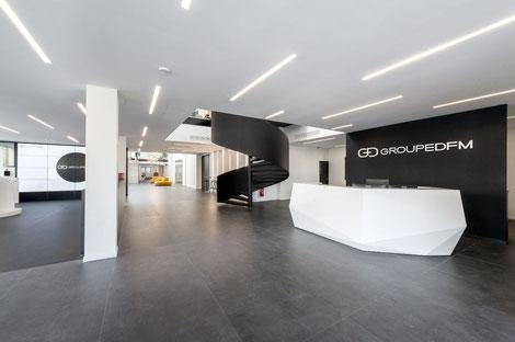 Décoration bureau entreprise Val d'Oise |Cergy | Pontoise | Bezons | Saint Ouen l'Aumone | Locaux professionnels