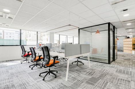 Décoration bureau entreprise Val d'Oise - professionnel - locaux - Cergy - Pontoise - Bezons - Jouy le Moutier