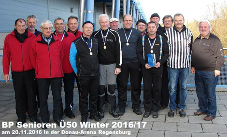 Siegerfoto BP Senioren Ü50 Winter 2016/17