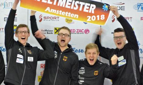 Weltmeister Team-Ziel-Herren 2018