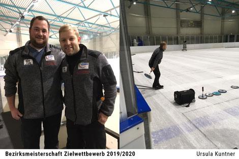 Bezirksmeisterschaft Ziel - Manuel Schmid, Robert Riedl