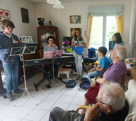 ecole de musique emc crolles-grésivaudan : concert the chez meme juin 2016