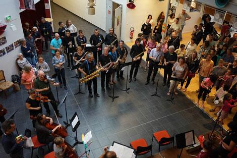 EMC - challenge Musical- Grésivaudan - La Bamba - école de musique