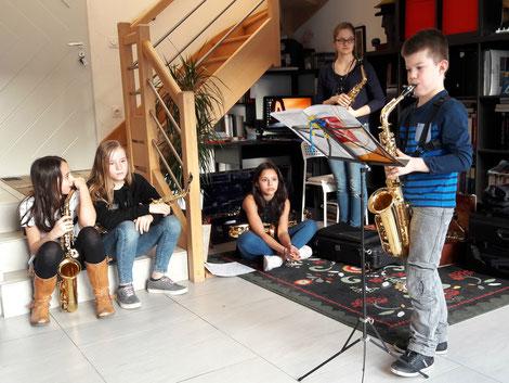 école de musique EMC Crolles-gresivaudan : Concert' Thé chez Lucie