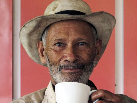 Jorge Márquez Yepes, Vorarbeiter auf der Finca Cocondo