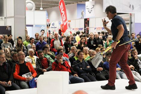 © Alpinmesse - Vortrag Larcher