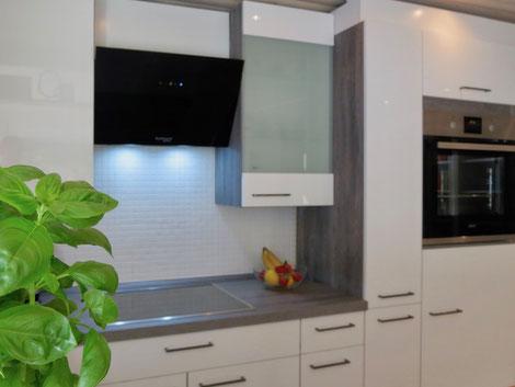 Einbauküche mit Spülmaschine, Ferienhaus