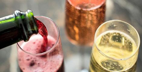 vin-rouge-pétillant-val-de-Loire-dessert-tarte-vigneronne