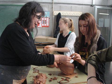 taller ceramica amb eva rafols