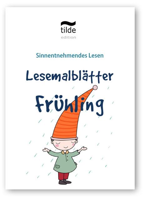 Lesemalblätterfür die Leseförderung in der Grundschule, kostenlos