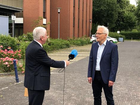 Martin Pantke im Interview mit Erwin Grosche