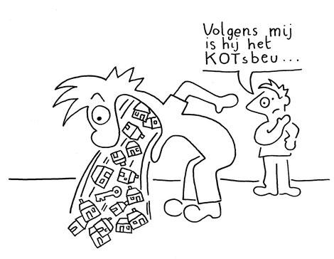 Dirk Van Bun Communicatie & Vormgeving - illustraties - tekeningen - cartoons - corona kotsbeu