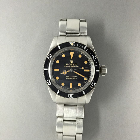 rolex submariner - no crown guard 5513